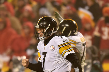 Ben Roethlisberger Divisional Round - Pittsburgh Steelers v Kansas City Chiefs