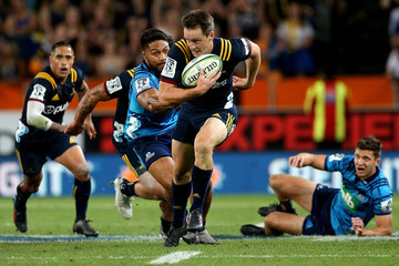 Ben Smith Super Rugby Rd 2 - Highlanders v Blues