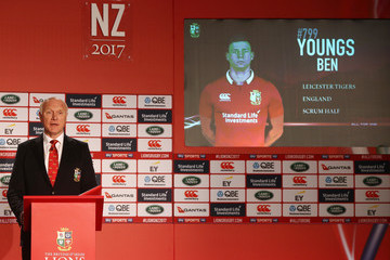 Ben Youngs British and Irish Lions Tour Squad and Captain Announcement