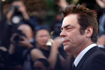 Benicio Del Toro 70th Anniversary Red Carpet Arrivals - The 70th Annual Cannes Film Festival