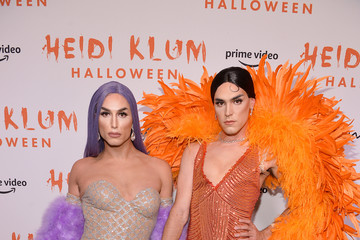 Benito Skinner Terrence O'Connor Heidi Klum's 20th Annual Halloween Party - Arrivals