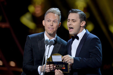 Benj Pasek The Olivier Awards 2019 With Mastercard - Show