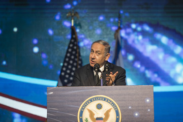 Benjamin Netanyahu US Ambassador To Israel Holds American Independence Party