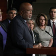 Bennie Thompson Pelosi, House Democrats Hold Press Conference After Meeting With ICE Director