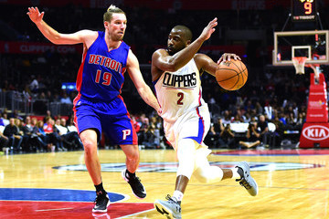 Beno Udrih Detroit Pistons v Los Angeles Clippers