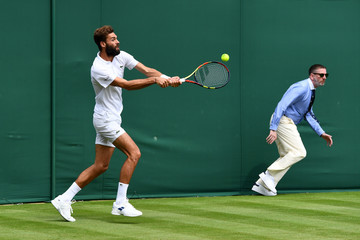 Benoit Paire Day One: The Championships - Wimbledon 2017