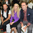 Beppe Angiolini MFW: Front Row at Iceberg
