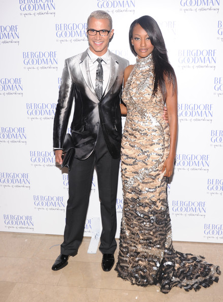 Jay Manuel and Nichole Galicia attend Bergdorf Goodman's 111th anniversary celebration at the Plaza Hotel on October 18, 2012 in New York City.