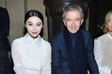 Bernard Arnault Givenchy : Front Row - Paris Fashion Week Womenswear Spring/Summer 2018