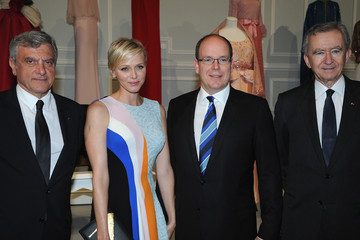 Bernard Arnault Guests Attend the Dior Cruise Cocktail Event