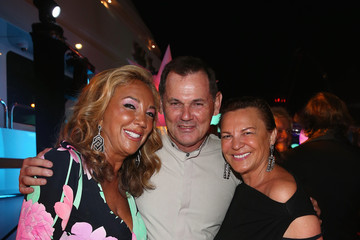 Bernd Beetz Denise Rich Hosts a Party in St. Tropez