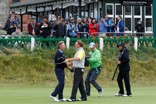 Bernhard Langer and Miguel Angel Jimenez Photos - 1 of 27
