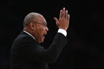 Bernie Bickerstaff Golden State Warriors v Los Angeles Lakers