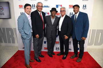 Bernie Williams Mike Torrez Sports Illustrated Hosts Screening Of '14 Back'