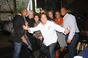 Bernie Williams Delta Air Lines Presents New York Yankees Pinstripe Brunch Hosted by Josh Capon