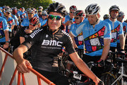 Cyclist George Hincapie attends the Best Buddies Challenge: Hyannis Port on June 1, 2013 in Hyannis Port, Massachusetts.