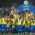 Daniel Alves Photos - Dani Alves of Brazil celebrates with the trophy and his teammates after winning the Copa America Brazil 2019 Final match between Brazil and Peru at Maracana Stadium on July 07, 2019 in Rio de Janeiro, Brazil. - Best Of Copa America Brazil 2019