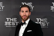 Sergio Ramos attends The Best FIFA Football Awards 2019 at the Teatro Alla Scala on September 23, 2019 in Milan, Italy.