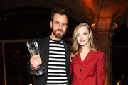 Justin Theroux and Amanda Seyfried Photos Photo