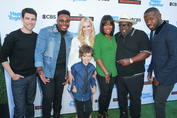 Beth Behrs CBS Hosts Social Happy Hour Viewing Party For 'The Neighborhood' And 'Happy Together'