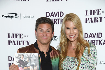Beth Ostrosky Stern David Burtka Celebrates The Launch Of The Life Is A Party Cookbook In New York City With The Capital One Savor® Credit Card