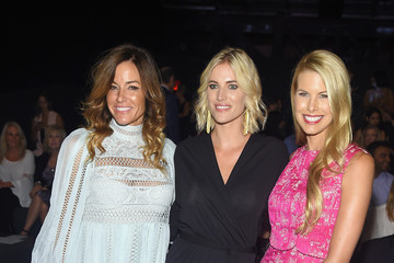 Beth Ostrosky Stern Badgley Mischka - Front Row - Spring 2016 New York Fashion Week: The Shows