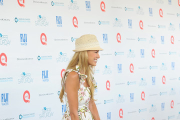 Beth Ostrosky Stern FIJI Water At Super Saturday Co-Hosted By Kelly Ripa And Donna Karan