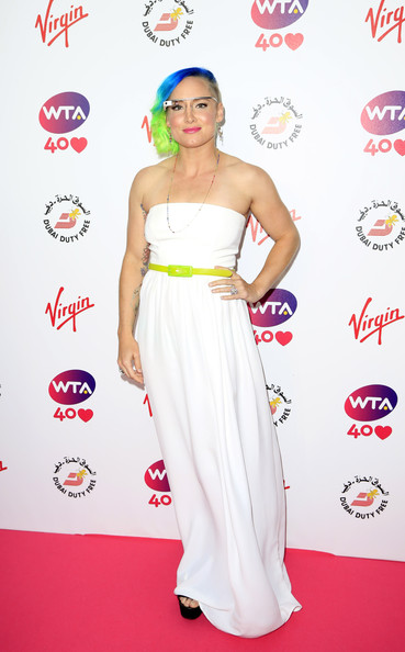 Bethanie Mattek-Sands Bethanie Mattek-Sands attends the annual WTA pre-Wimbledon party at Kensington Roof Gardens on June 20, 2013 in London, England.