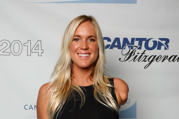 Bethany Hamilton Annual Charity Day Hosted By Cantor Fitzgerald And BGC - Cantor Fitzgerald Office - Arrivals