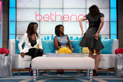 Bethenny Hosts Kandi Burruss, Kenya Moore, Retta, Derek J, and Carmen Electra at CBS Broadcast Center on November 7, 2013 in New York City.