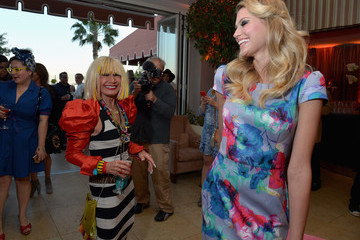 Betsey Johnson Betsey Johnson's Pool Party at Sunset Tower