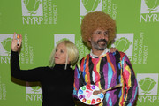 Katie Couric and John Molnerattend Bette Midler's Hulaween To Benefit NY Restoration Project at New York Midtown Hilton on October 31, 2019 in New York City.