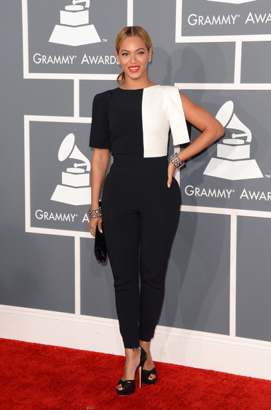Beyonce Knowles - The 55th Annual GRAMMY Awards - Arrivals