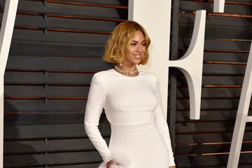 Beyonce Knowles Arrivals at the Elton John AIDS Foundation Oscars Viewing Party — Part 5