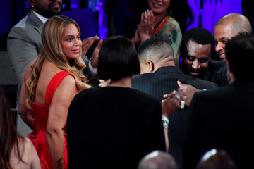 "Beyonce Knowles Pre-GRAMMY Gala and GRAMMY Salute to Industry Icons Honoring Sean ""Diddy"" Combs - Show"