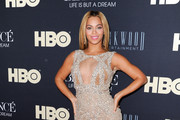 Beyonce Wears a Sexy Sheer Dress to the 'Beyonce: Life is But a Dream' Premiere