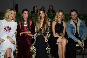 Bianca Brandolini D'Adda Giambattista Valli: Front Row - Paris Fashion Week - Haute Couture Spring Summer 2019