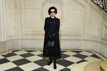 Bianca Jagger Christian Dior: Photocall - Paris Fashion Week Womenswear Fall/Winter 2018/2019