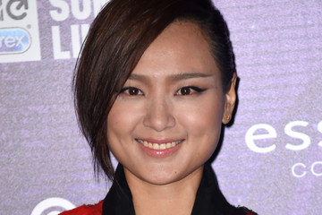 Bibi Zhou MTV EMA's 2014 - Red Carpet Arrivals
