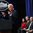 Steven Chu Biden And Administration Officials Attend Middle Class Task Force Event