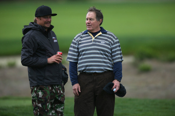 Kid Rock and Bill Belichick - AT&T Pebble Beach National Pro-Am: Round 2