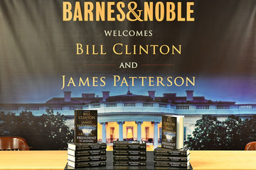 Bill Clinton Bill Clinton And James Patterson Sign Copies Of Their New Book 'The President Is Missing'