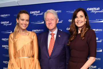 Bill Clinton Annual Charity Day Hosted By Cantor Fitzgerald, BGC and GFI - Cantor Fitzgerald Office - Arrivals