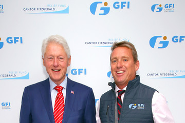 Bill Clinton Annual Charity Day Hosted By Cantor Fitzgerald, BGC and GFI - GFI Office - Arrivals