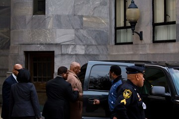 Bill Cosby Comedian Bill Cosby Attends a Pretrial Conference at the Montgomery County Courthouse