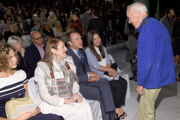Carolina Herrera - Front Row - Mercedes-Benz Fashion Week Spring 2015