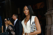 Naomi Campbell is seen leaving the Bill Cunningham Memorial  at Carnegie Hall on October 17, 2016 in New York City.