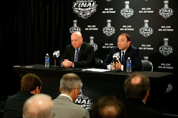 Bill Daly NHL Stanley Cup Final: Game 1