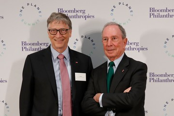 Bill Gates Key Speakers at French Finance Ministry Climate Financing Summit
