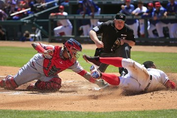 Bill Miller Los Angeles Angels of Anaheim v Texas Rangers